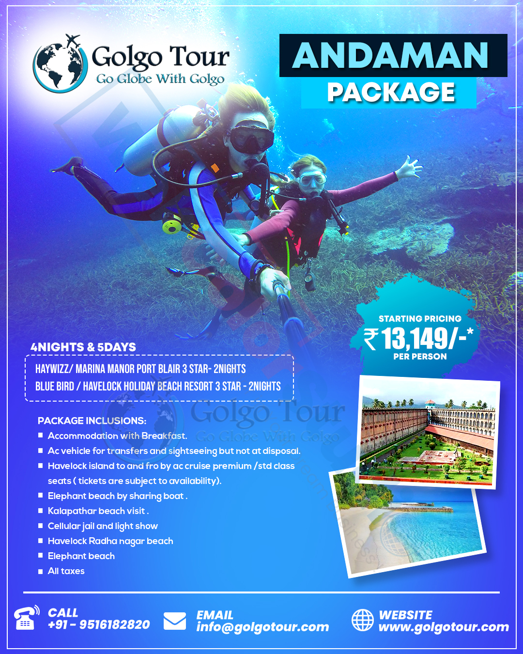 Andaman Package Flyer