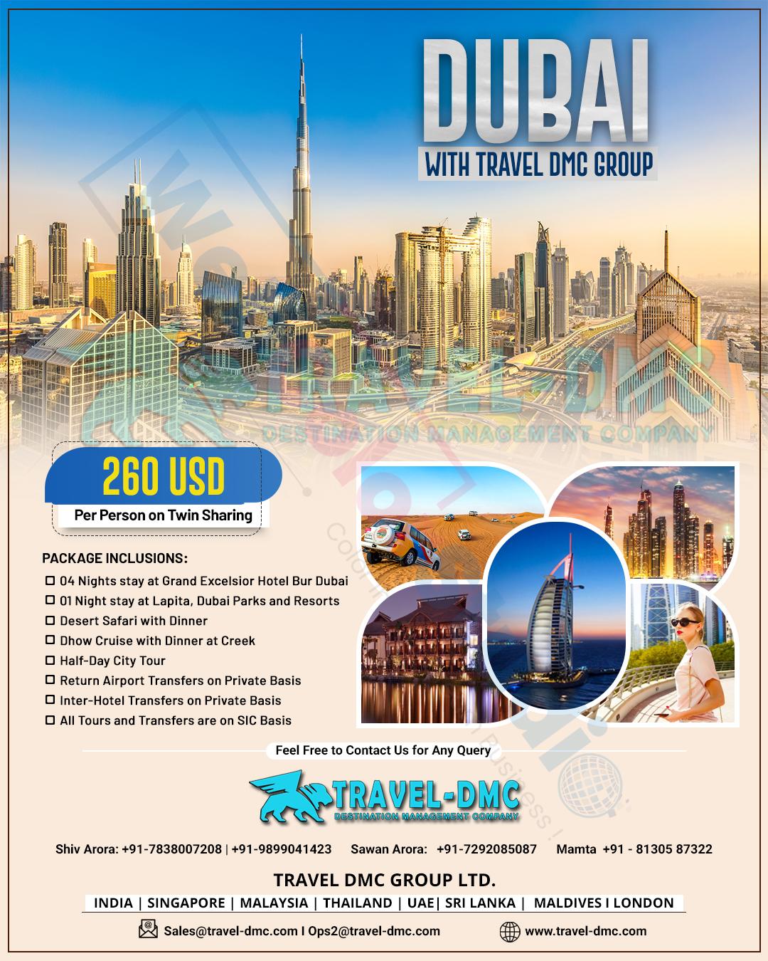 Dubai Travel TMC Design
